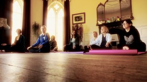 Yoga in the Drawing room
