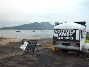 Holy isle Ferry